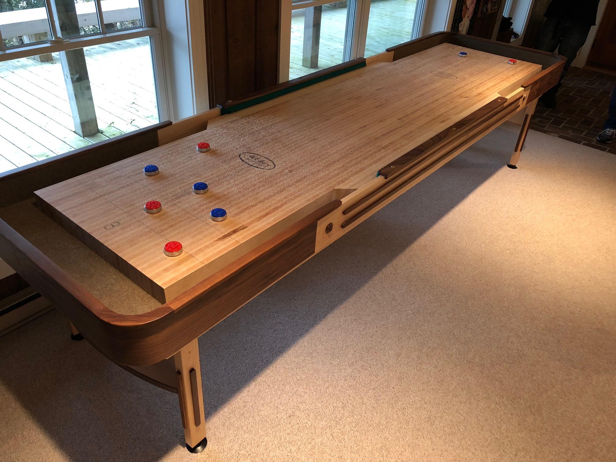 Tyler Shuffleboard table moving